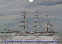 Großsegler auf der Weser (Wandkalender 2019 DIN A4 quer) - Produktdetailbild 12