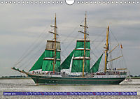 Großsegler auf der Weser (Wandkalender 2019 DIN A4 quer) - Produktdetailbild 1