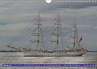 Grosssegler auf der Weser (Wandkalender 2019 DIN A4 quer) - Produktdetailbild 2