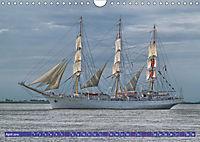 Grosssegler auf der Weser (Wandkalender 2019 DIN A4 quer) - Produktdetailbild 4