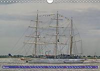 Grosssegler auf der Weser (Wandkalender 2019 DIN A4 quer) - Produktdetailbild 5