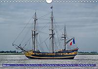 Großsegler auf der Weser (Wandkalender 2019 DIN A4 quer) - Produktdetailbild 3