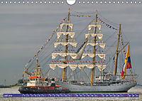 Grosssegler auf der Weser (Wandkalender 2019 DIN A4 quer) - Produktdetailbild 7