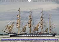 Großsegler auf der Weser (Wandkalender 2019 DIN A4 quer) - Produktdetailbild 9