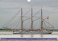 Grosssegler auf der Weser (Wandkalender 2019 DIN A4 quer) - Produktdetailbild 8