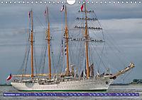 Grosssegler auf der Weser (Wandkalender 2019 DIN A4 quer) - Produktdetailbild 11