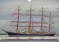 Grosssegler auf der Weser (Wandkalender 2019 DIN A4 quer) - Produktdetailbild 12
