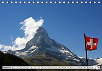 Grüezi . Landschaften in der Schweiz (Tischkalender 2019 DIN A5 quer) - Produktdetailbild 9