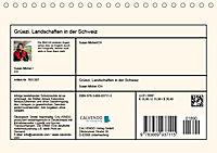 Grüezi . Landschaften in der Schweiz (Tischkalender 2019 DIN A5 quer) - Produktdetailbild 13
