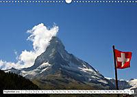 Grüezi . Landschaften in der Schweiz (Wandkalender 2019 DIN A3 quer) - Produktdetailbild 9