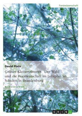 Grünes Klassenzimmer. Der Wald und die Forstwirtschaft im Lehrplan an Schulen in Brandenburg, David Plato