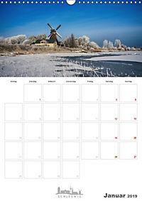 Grüße aus der Schleistadt Schleswig (Wandkalender 2019 DIN A3 hoch) - Produktdetailbild 1