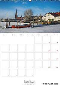 Grüße aus der Schleistadt Schleswig (Wandkalender 2019 DIN A2 hoch) - Produktdetailbild 2