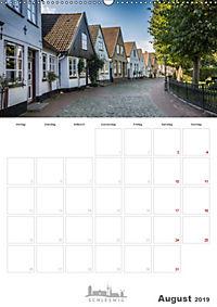 Grüße aus der Schleistadt Schleswig (Wandkalender 2019 DIN A2 hoch) - Produktdetailbild 8