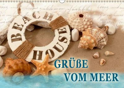 Grüße vom Meer (Wandkalender 2019 DIN A3 quer), Christine B-B Müller