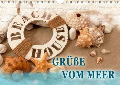 Grüße vom Meer (Wandkalender 2019 DIN A4 quer), Christine B-B Müller