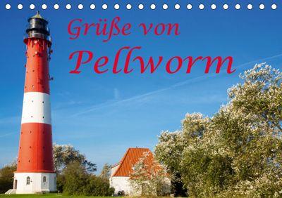 Grüsse von Pellworm (Tischkalender 2019 DIN A5 quer), D. E. T. photo impressions