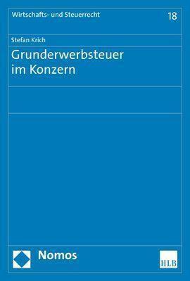 Grunderwerbsteuer im Konzern, Stefan Krich