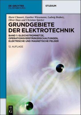 Grundgebiete der Elektrotechnik: Bd.1 Gleichstromnetze, Operationsverstärkerschaltungen, elektrische und magnetische Felder, Ludwig Brabetz, Oliver Haas, Christian Spieker