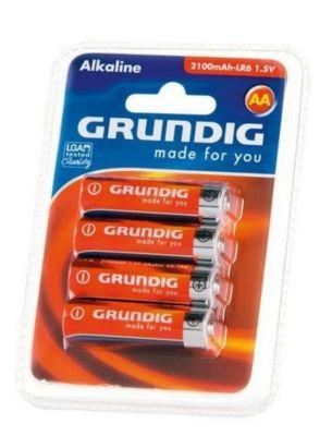 Grundig Batterien Alkaline AA 4er Pack