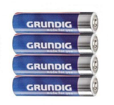 Grundig Batterien Alkaline AAA 4er Pack