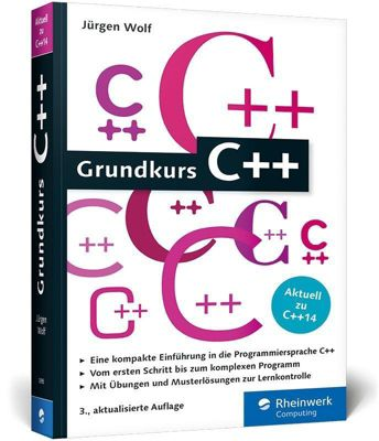Grundkurs C++, Jürgen Wolf