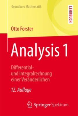 Grundkurs Mathematik: Analysis 1, Otto Forster
