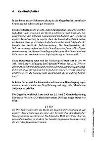 Grundlagen der kommunalen Verwaltungsorganisation Schleswig-Holstein - Produktdetailbild 4