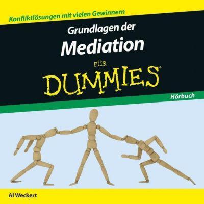 Grundlagen der Mediation für Dummies, 1 Audio-CD, Al Weckert