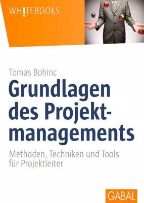 Grundlagen des Projektmanagements, Tomas Bohinc
