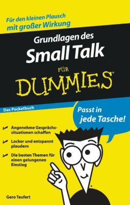 Grundlagen des Small Talks für Dummies, Gero Teufert