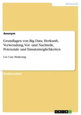 Grundlagen von Big Data. Herkunft, Verwendung, Vor- und Nachteile, Potenziale und Einsatzmöglichkeiten, Hans Stein