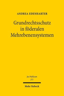 Grundrechtsschutz in föderalen Mehrebenensystemen, Andrea Edenharter