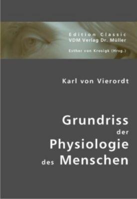 Grundriss der Physiologie des Menschen, Karl von Vierordt