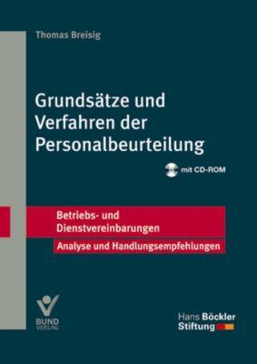Grundsätze und Verfahren der Personalbeurteilung, m. CD-ROM, Thomas Breisig