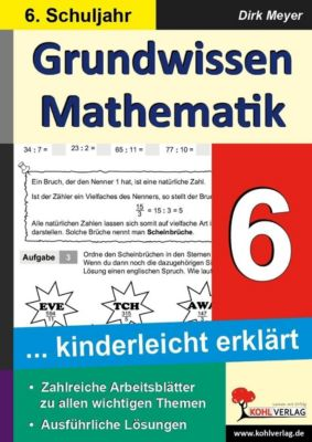 Grundwissen Mathematik 6. Schuljahr, Dirk Meyer