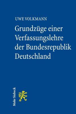 Grundzüge einer Verfassungslehre der Bundesrepublik Deutschland, Uwe Volkmann