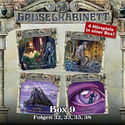 Gruselkabinett, Box: Gruselkabinett, Box 9: Folgen 32, 33, 35, 38, Bram Stoker, Barbara Hambly, Hanns Heinz Ewers