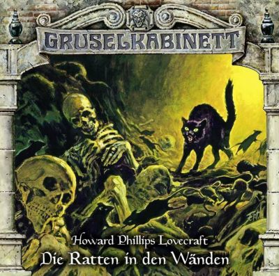 Gruselkabinett - Die Ratten in den Wänden, 1 Audio-CD, H. P. Lovecraft