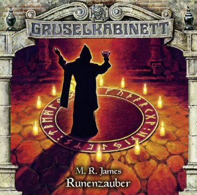 Gruselkabinett - Runenzauber, 1 Audio-CD, M. R. James