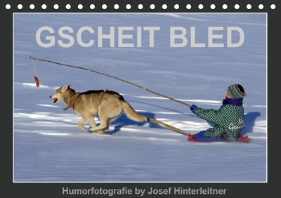 GSCHEIT BLED - Humorfotografie (Tischkalender 2019 DIN A5 quer), Josef Hinterleitner