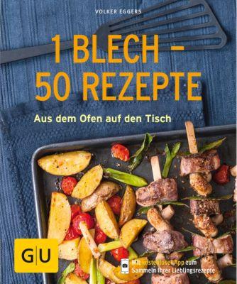 GU KüchenRatgeber: 1 Blech - 50 Rezepte, Volker Eggers