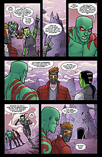 Guardians of the Galaxy - Die Jagd auf Thanos - Produktdetailbild 3