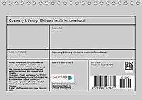 GUERNSEY und JERSEY - Britische Inseln im Ärmelkanal (Tischkalender 2019 DIN A5 quer) - Produktdetailbild 13