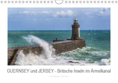 GUERNSEY und JERSEY - Britische Inseln im Ärmelkanal (Wandkalender 2019 DIN A4 quer), Susann Kuhr