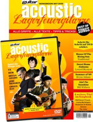 guitar acoustic -Lagerfeuergitarre, mit DVD - Justin Nova pdf epub