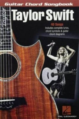 Guitar Chord Songbook, Taylor Swift