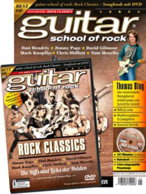 guitar school of rock - Rock Classics, mit DVD - Thomas Blug |