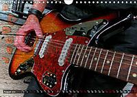 Guitars Grunge Style (Wall Calendar 2019 DIN A4 Landscape) - Produktdetailbild 8