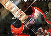 Guitars Grunge Style (Wall Calendar 2019 DIN A4 Landscape) - Produktdetailbild 10